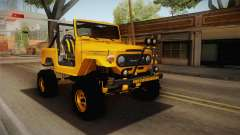 Toyota Land Cruiser Fj40 1978 Off Road для GTA San Andreas