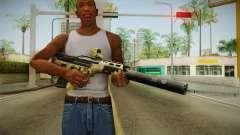 DesertTech Weapon 2 Camo Silenced для GTA San Andreas