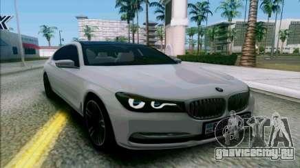 BMW 7 G11 2016 для GTA San Andreas