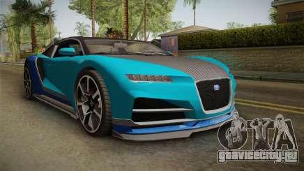 GTA 5 Truffade Nero Spyder IVF для GTA San Andreas