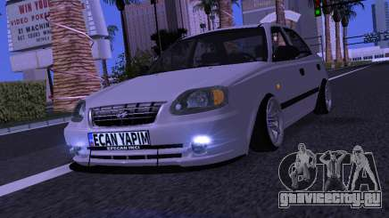 Hyundai Accent - Ecan Yapim для GTA San Andreas