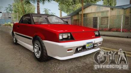 GTA 5 Dinka Blista Cabrio IVF для GTA San Andreas