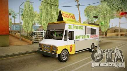 GTA 5 Brute Taco Van IVF для GTA San Andreas