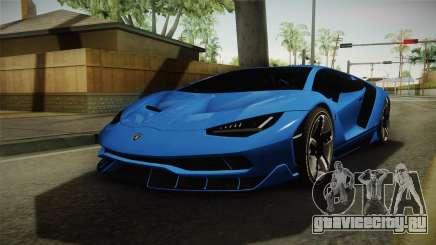 Lamborghini Centenario для GTA San Andreas