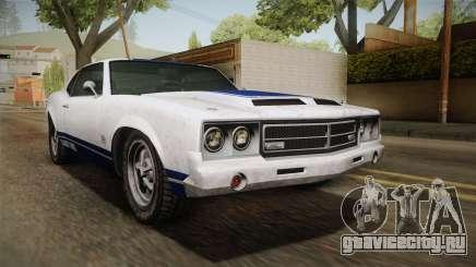 GTA 5 Declasse Sabre GT Painted Bumpers для GTA San Andreas