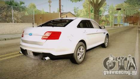 Ford Taurus Unmarked 2014 для GTA San Andreas
