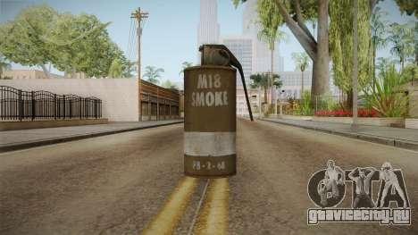 Battlefield 4 - M18 для GTA San Andreas