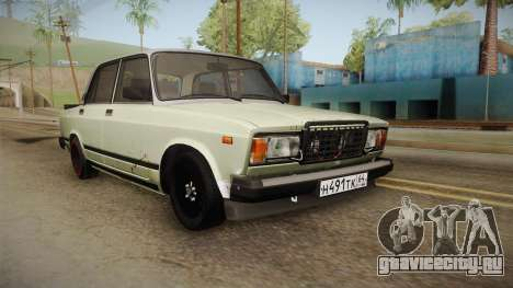ВАЗ 2107 Боевая для GTA San Andreas