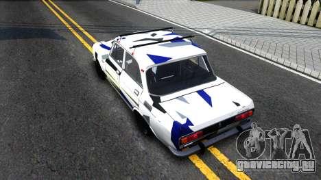 АЗЛК 2140 Москвич RDM для GTA San Andreas вид сзади