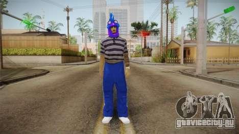 Бандит из Ацтек для GTA San Andreas второй скриншот