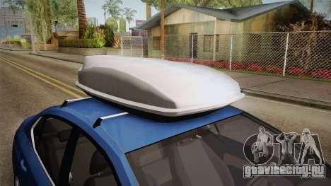 Citroen C4 Lounge для GTA San Andreas вид сзади