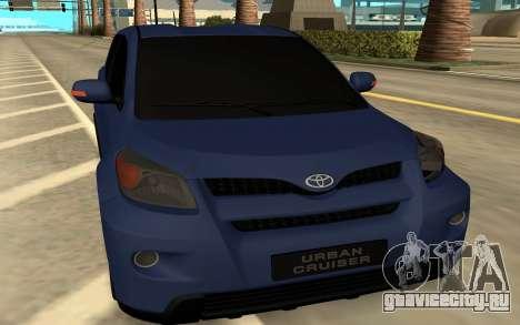 Toyota Urban Cruiser для GTA San Andreas