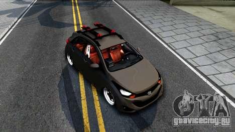 Hyundai HB20 для GTA San Andreas вид справа