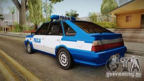 Daewoo-FSO Polonez Caro Plus Policja 2 1.6 GLi для GTA San Andreas вид слева