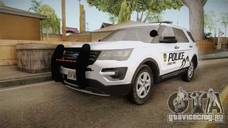 Ford Explorer 2012 Angel Pine PD для GTA San Andreas