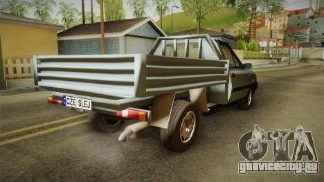 FSO Polonez Truck для GTA San Andreas вид сзади слева