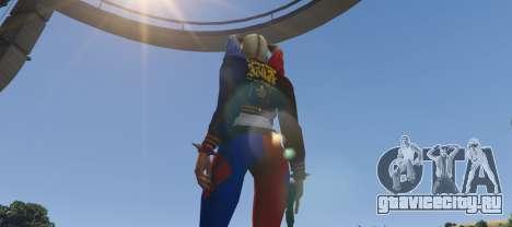 Harley Quinn from DC Legends для GTA 5 третий скриншот