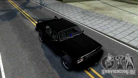 Tuned FBI Rancher для GTA San Andreas вид справа
