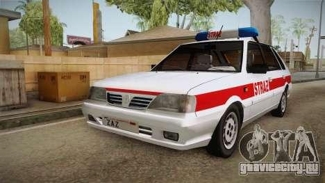 Daewoo-FSO Polonez Caro Plus Straż 1.6 GLi для GTA San Andreas