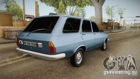 Renault 12 TSW Break для GTA San Andreas вид справа