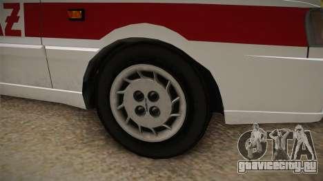 Daewoo-FSO Polonez Caro Plus Straż 1.6 GLi для GTA San Andreas вид сзади