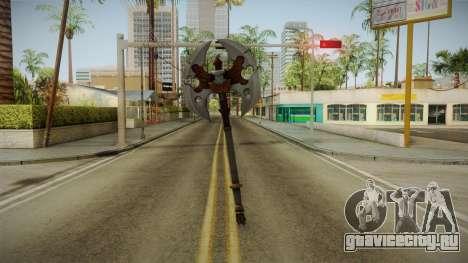 Injustice: Gods Among Us - Ares Axe для GTA San Andreas второй скриншот