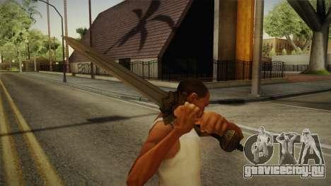 Injustice: Gods Among Us - Wonder Woman Sword для GTA San Andreas третий скриншот
