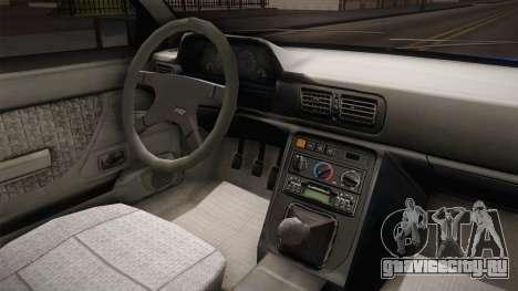 Daewoo-FSO Polonez Caro Plus Policja 2 1.6 GLi для GTA San Andreas вид изнутри