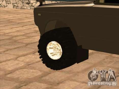 ИЖ 27175 для GTA San Andreas вид сзади
