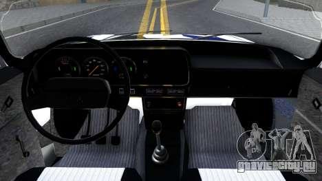АЗЛК 2140 Москвич RDM для GTA San Andreas вид изнутри