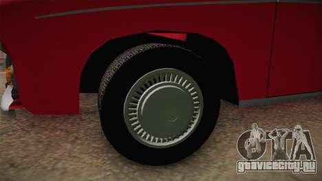 FSM Syrena 105 Milicja для GTA San Andreas вид сзади