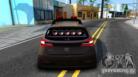 Hyundai HB20 для GTA San Andreas вид сзади слева
