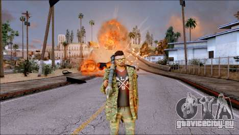 SKIN GTA ONLINE DLC для GTA San Andreas четвёртый скриншот