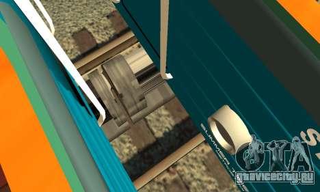 ST_M Метросостав типа Е для GTA San Andreas вид сверху