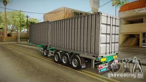 Trailer Container v1 для GTA San Andreas вид слева