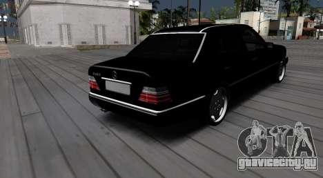 Mercedes-Benz W124 E320 для GTA San Andreas вид слева