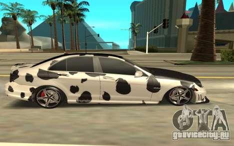 Mercedes-Benz C63 для GTA San Andreas вид слева