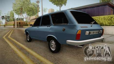 Renault 12 TSW Break для GTA San Andreas вид слева