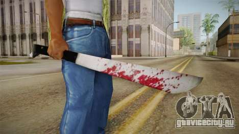 Friday The 13th - Jason Voorhees Machete для GTA San Andreas