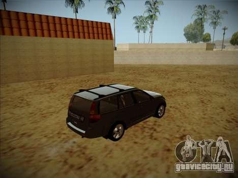 Great Wall Hover H2 для GTA San Andreas вид сзади слева