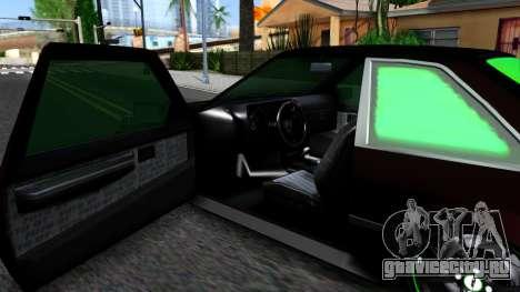 GTA 5 Karin Futo - Monster Energy для GTA San Andreas вид изнутри