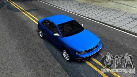 Audi S4 Dark Shark для GTA San Andreas вид справа