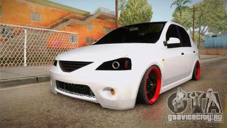 Dacia Logan Tuning v2 для GTA San Andreas