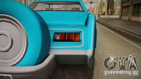 GTA 5 Albany Virgo Continental IVF для GTA San Andreas вид сбоку