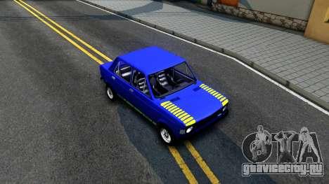 Fiat 128 v2 для GTA San Andreas вид справа
