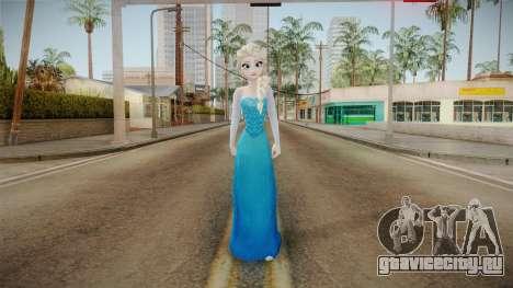Frozen - Elsa v3 No Cape для GTA San Andreas второй скриншот