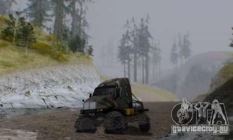 Kenworth T2000 Off Road для GTA San Andreas вид сзади слева