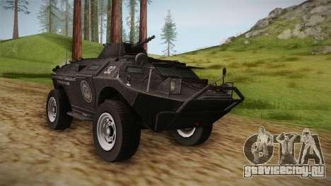 GTA 4 EFLC TBOGT - APC для GTA San Andreas