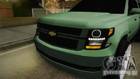 Chevrolet Tahoe GT Stance Bass Booster для GTA San Andreas вид сбоку