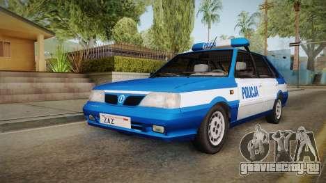 Daewoo-FSO Polonez Caro Plus Policja 2 1.6 GLi для GTA San Andreas